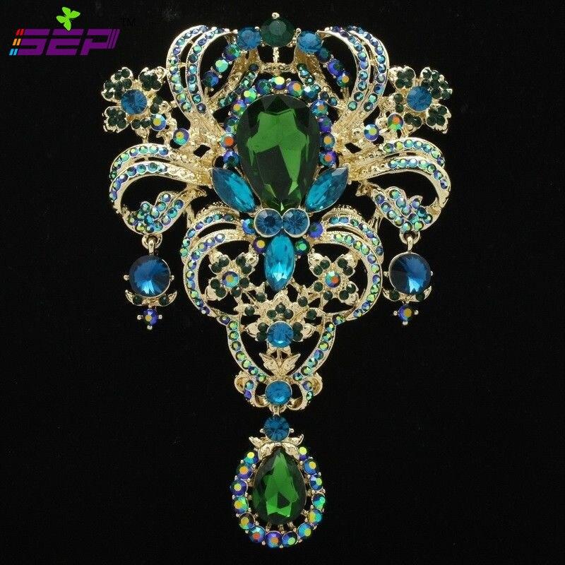 On Sale Large Flower Brooch Women Jewelry Broach Pin 5.1 ...