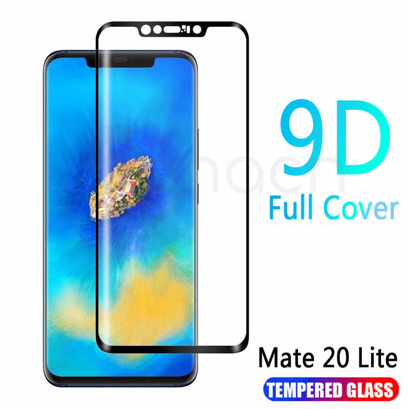 9D Protective Glass on the For Huawei Mate 20 10 Pro 20X 9 Lite Screen Protector For Huawei P Smart Tempered Glass Film Case