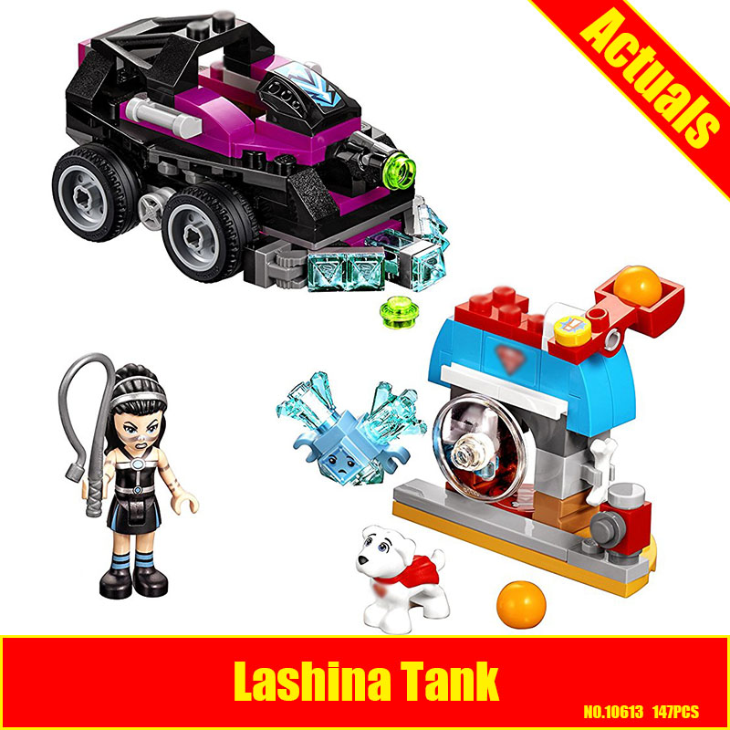 10613 Super Hero Girls Lashina Tank building Blocks children Friends DIY figures bricks Toys Gift Compatible With Lepin 41233