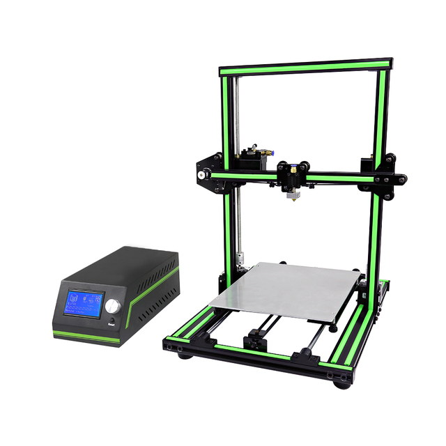 New ! Anet E10 3D Printer DIY Kit Aluminum Frame Multi-language Large Printing Size High Precision Reprap i3 5