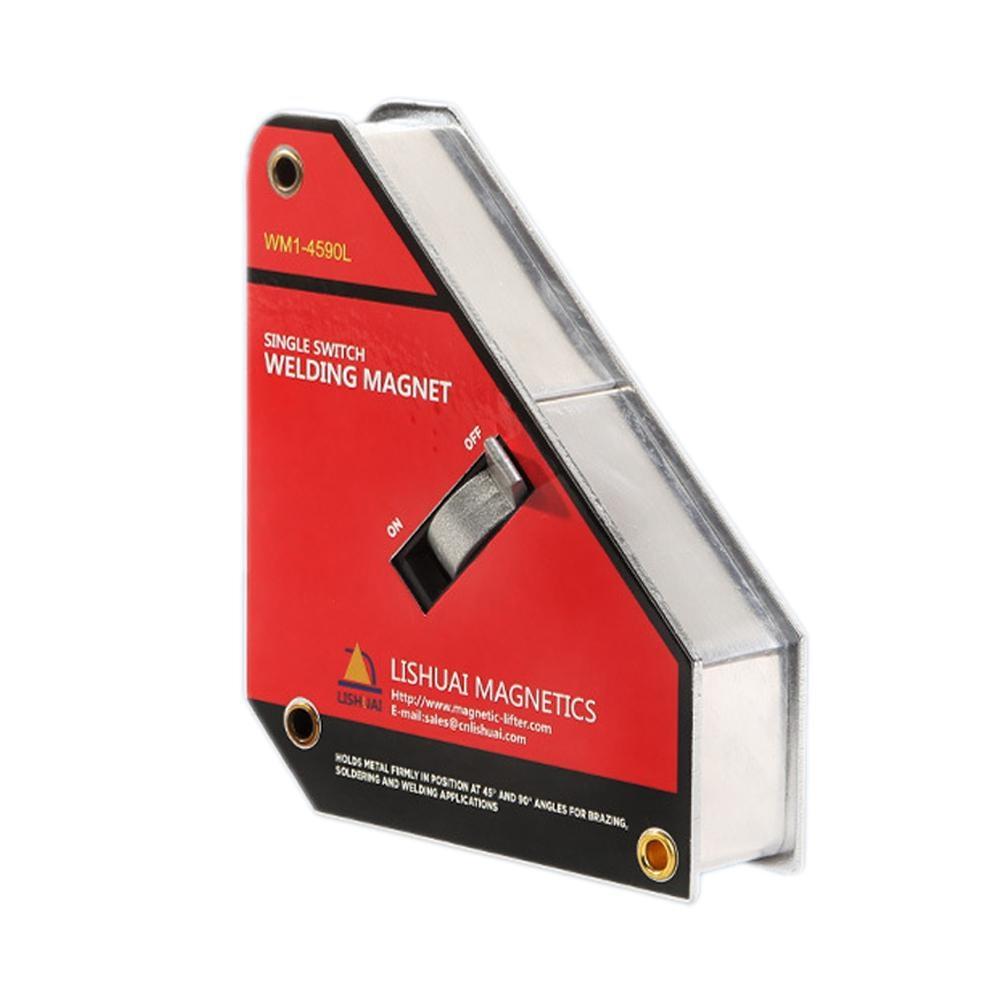 1 pcs Forte Commutateur Néodyme Industrielle Support Magnétique De Soudure Sur/Off Interrupteur Magnétique Pince/Aimant Carré 45 90 degré