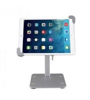 Suitable for iPad mini1 2 3 4 table metal bracket display bracket Tablet PC anti theft lock bracket support to adjust any angle