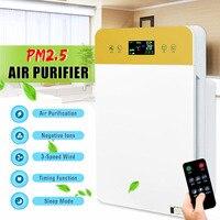 Mais recente Atualização do Filtro HEPA Purificador De Ar 220V Para Casa e Escritório Purificador de Ar Ionizador PM2.5 Remoção de Odor Formaldeído Esterilização