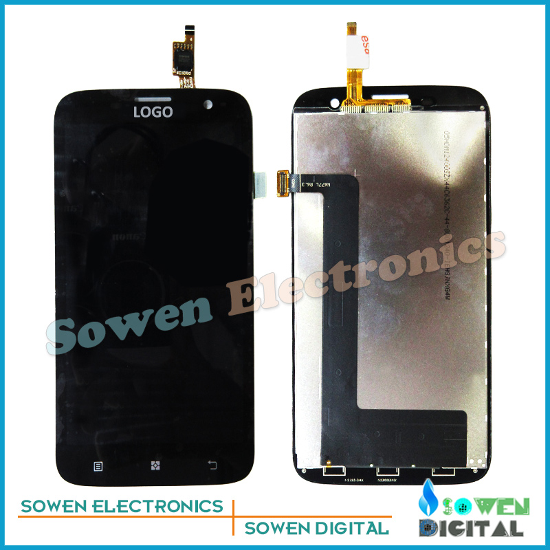 Подробнее о new LCD display Screen with Touch Screen digitizer assembly full sets for Lenovo A859, black new lcd display