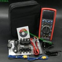 True RMS datalogging цифровой Мультиметры UNI T ut181a DMM емкость Температура метр ж/re платной литий батарея ЕС Plug