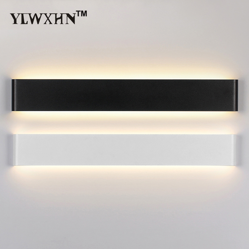 2017 Real Wandlamp Light Led Wall Modern Minimalist Abs Lamp 41cm 111cm Living Room Bedroom Bedside