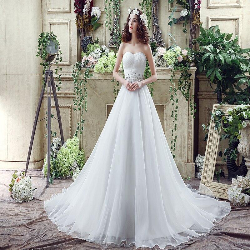 White Western Country Wedding Dresses Sweetheart Lace Applique beading vestidos de novia 2017 long ivory tulle wedding dress
