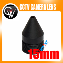 High Quality 2.0MP 15mm lens Camera Lens CCTV Board Lens For CCTV Security Camera / IP Camera