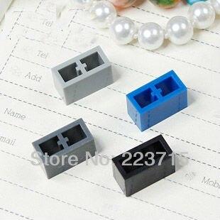 Freies Verschiffen! * Ziegel 1x2 ohne Knopf * DIY erleuchten Blockziegel, kompatibel mit baut Partikel