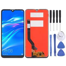 For Huawei Y7 2019 LCD Display Touch Screen Digitizer Assembly Pepair Parts for Huawei Y7 2019 Display with Frame Replacement for huawei p smart 2019 lcd display touch screen digitizer assembly pepair parts p smart 2019 display with frame replacement