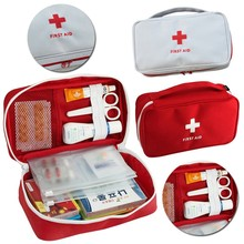 Portable First Aid Kits Emergency Medical Survival Box Medicine Bag For Travel Outdoor Spo