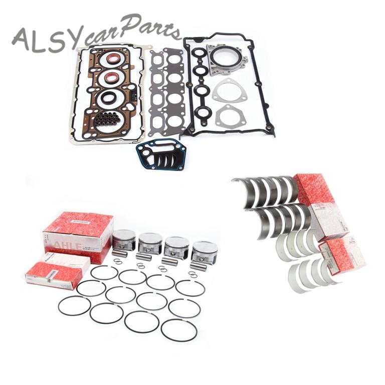 KEOGHS 058103383K Engine Rebuilding Piston Bearing Gasket Kits For VW Jetta Bora Golf Passat Audi A4 Quattro A6 1.8T 06B107065N