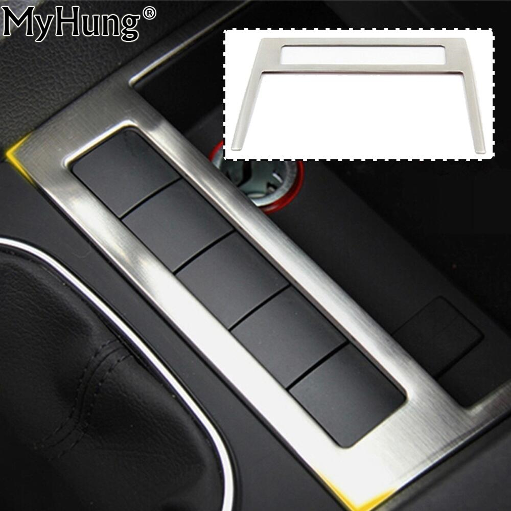 For Volkswagen VW Jetta MK6 Trim Stainless Steel Car USB Decoration Cover Trim  New High Quality Auto Prats 1pc Car Styling