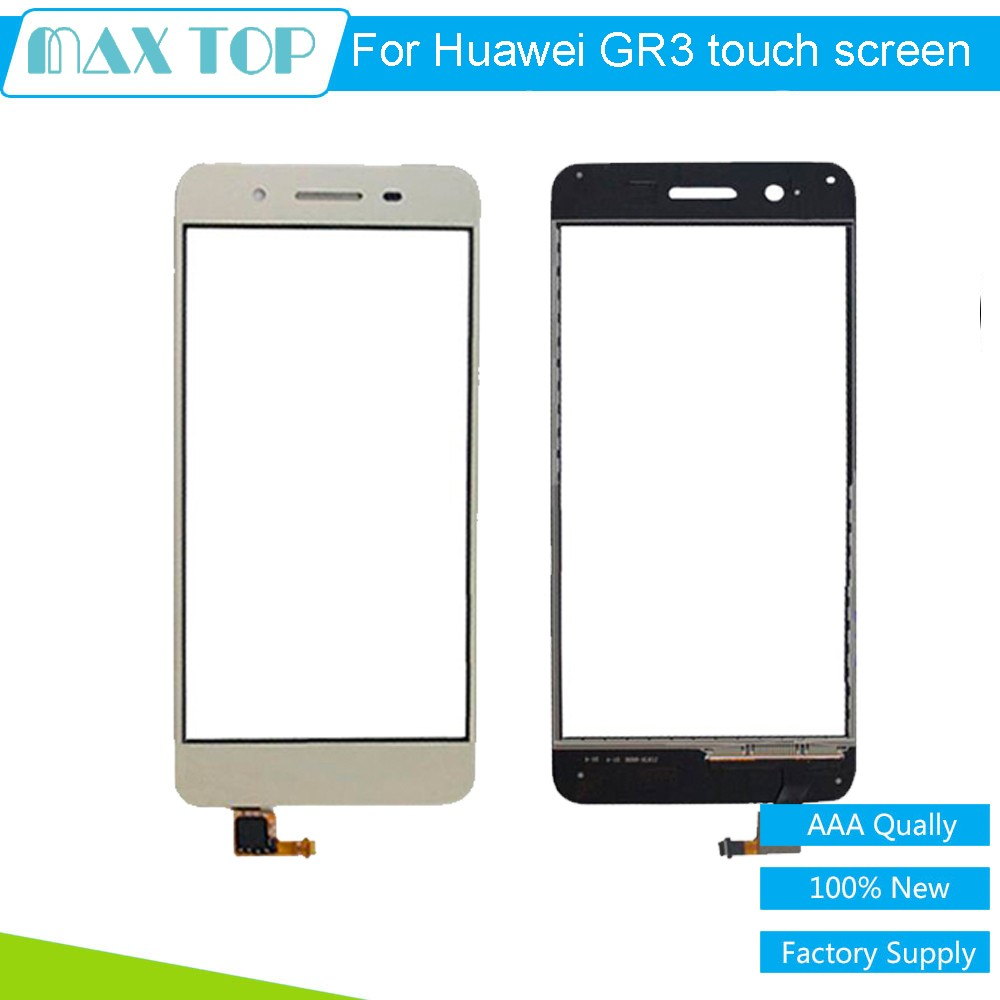 100% tested Touch Screen Digitizer Glass For Huawei Enjoy 5S GR3 TAG-L01 L03 L13 L22 L23 5 inch BlackWhiteGold Free Shipping