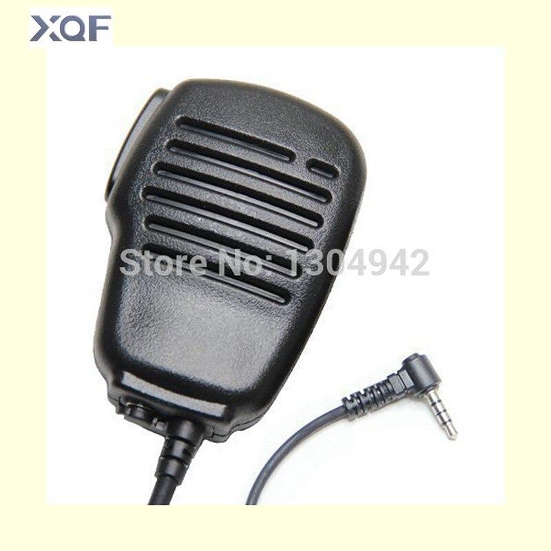 imágenes para Impermeable Hombro 1pin Parlante Remoto Mic Micrófono PTT Para Yaesu/Vertex VX-1R/2R 3R 5R 150 160 180 210 210A $ Number Vías de Radio 3.5mm