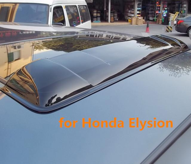 Teto solar escudos defletores de chuva tempo gruard shdows acrílico para honda elysion