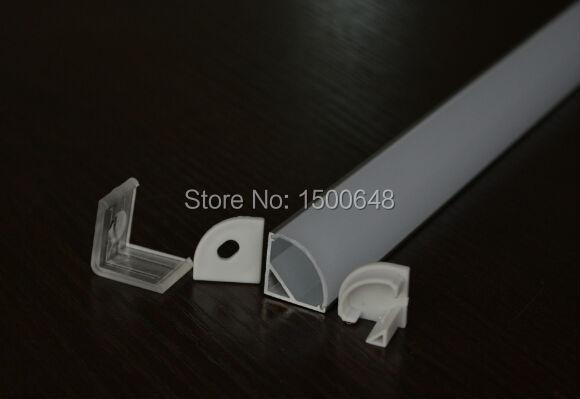 25pcs/lot 1m length LED Aluminum Profile for jewelry counter rigid bar