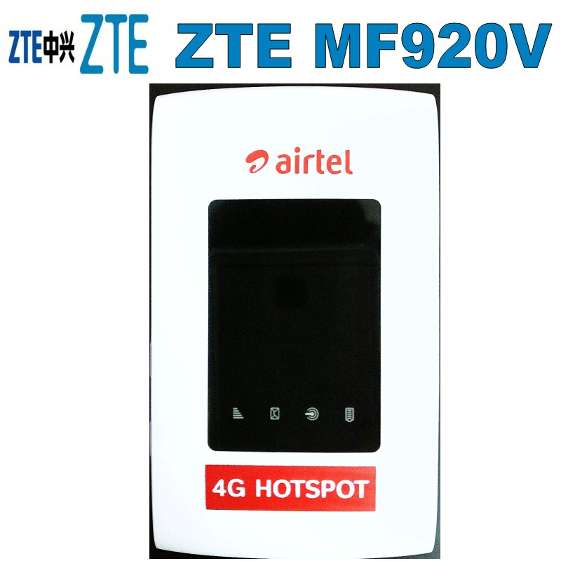 UNLOCKED-ZTE-MF920V-4G-LTE-WiFi-Modem-Router-Optus-Telstra-4GX FACTORY-UNLOCKED-ZTE-MF920V-4G