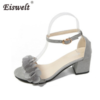 EISWELT Shoes Woman Summer Gladiator Women Sandals Sexy Peep Toe Ankle Strap High Heel Sandals Gift
