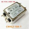 CW4L2-10A-T AC 115 В/250 В 10A 50/60 ГЦ Однофазный Мощность фильтр EMI