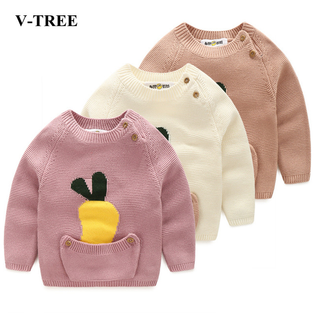 Children's Sweaters Winter For Kids Baby Girls Sweaters For A Boy Pullover For Baby Clothing New Year Christmas Sweater Girls