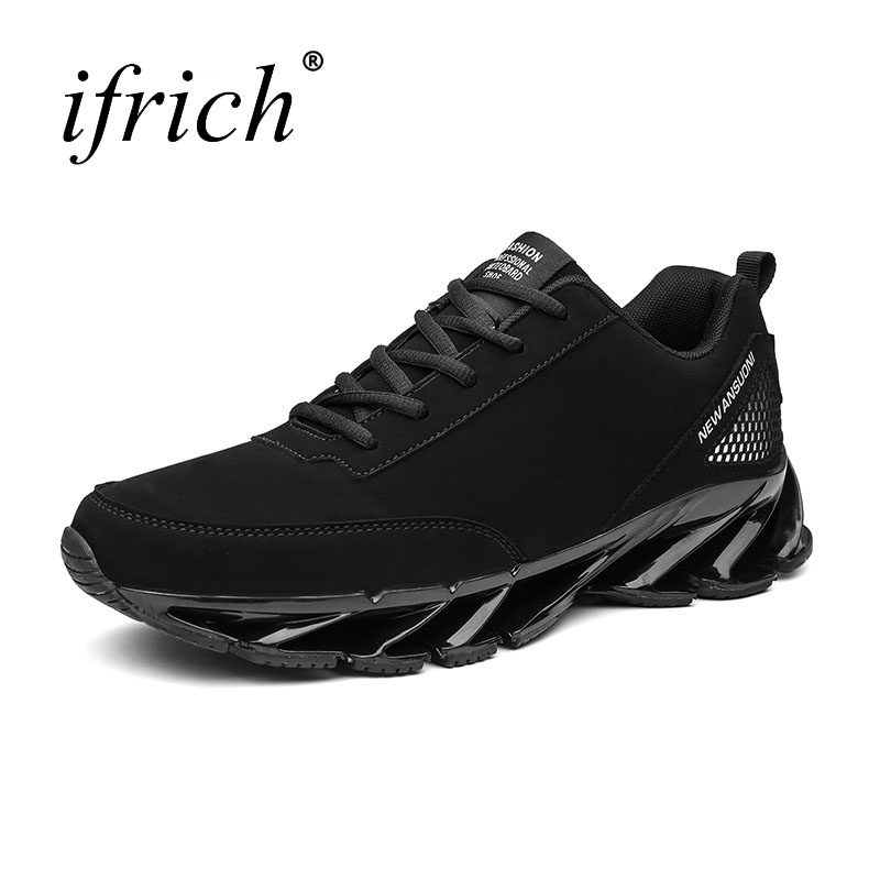Jogging Shoes for Men Autumn Winter Running Shoes Male Lace Up Athletic Sneakers Low Top Sneakers White Red Athletic Footwear