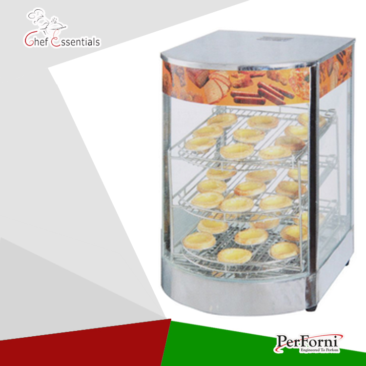 PKJG-DH1P hot dog display electric food warmer stainless steel food warmer cabinet  warmer showcase warmer display churro display warmer deluxe stainless steel churro showcase machine with heat food warmer and oil filter tray