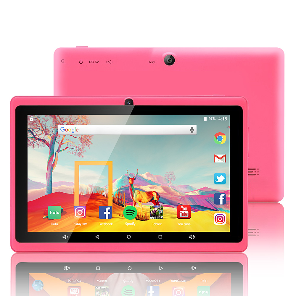 7 Inch Tablet 1GB/8GB,Google Android 8.0, Quad Core,Dual Camera, Wi-Fi, Bluetooth,Play Store Skype
