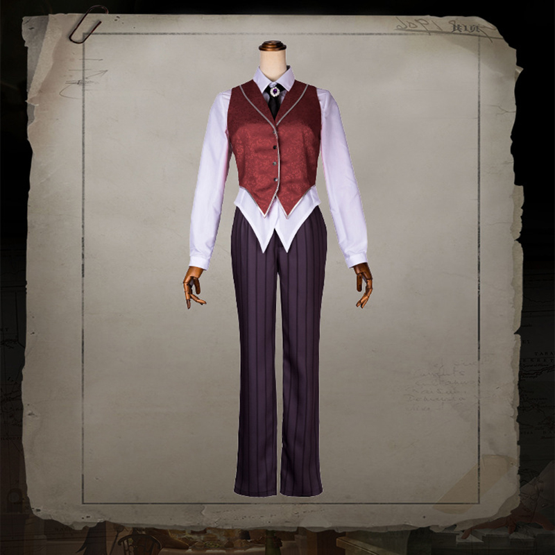 Game Identity V Cosplay Costumes Photographer Joseph Cosplay Moonlight Gentleman Costume Halloween Carnival Party Customized