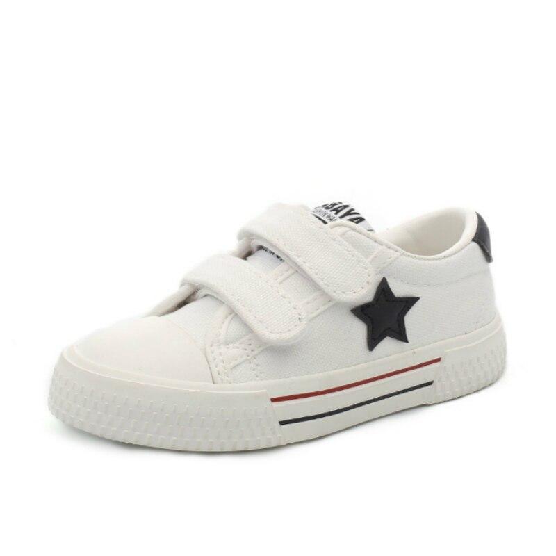 f1da4894f Купить 2018 Весенняя новая детская парусиновая обувь для девочек кроссовки  модная детская обувь для мальчиков повседневная обувь высокого качества.