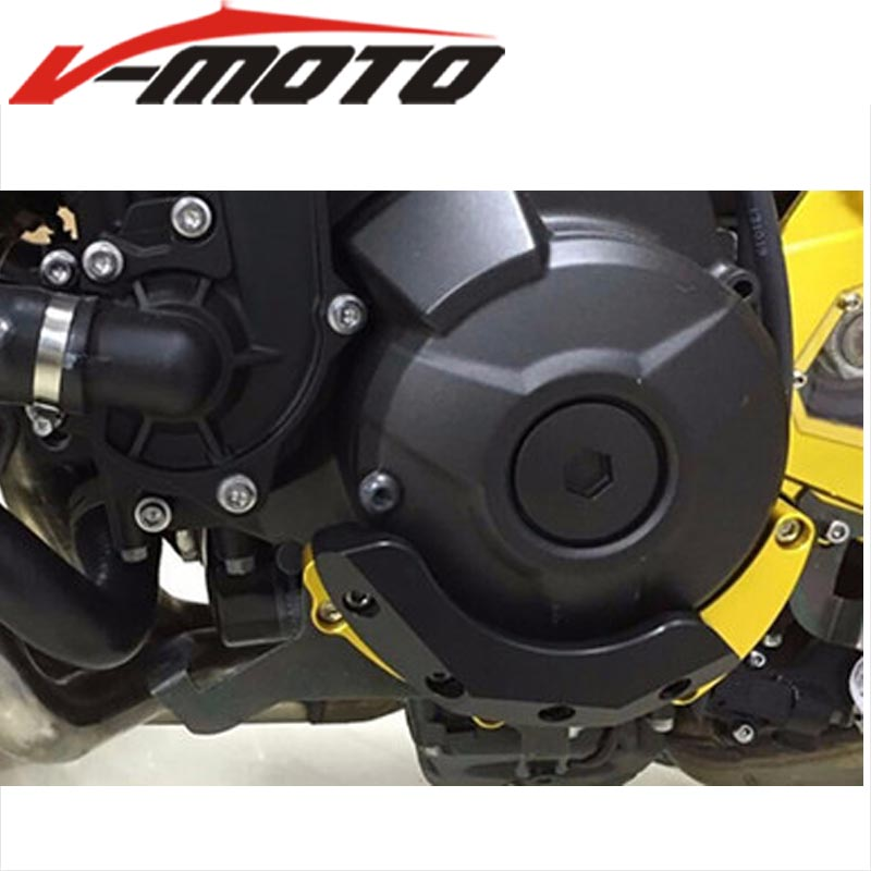 For YAMAHA MT09 MT-09 MT 09 FZ09 FZ-09 FZ 09 FJ09 FJ-09 MT09 TRACER Engine Guard Case Slider Cover Motorcycle Accessories motorcycle engine guard for yamaha mt 09 fz 09 mt09 tracer xsr900 2014 2017 engine guard case slider cover protector set