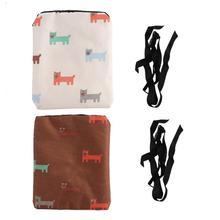 Портативный удобный большой емкости на открытом воздухе ткань Оксфорд для питомца щенка тренировочный мешок для закусок аксессуар для дрессировки собак