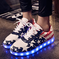 2016 Simulation Led Shoes For Adults Fashion High Quality Unisex LED Luminous Shoes Casual Shoes Led Shoe Female