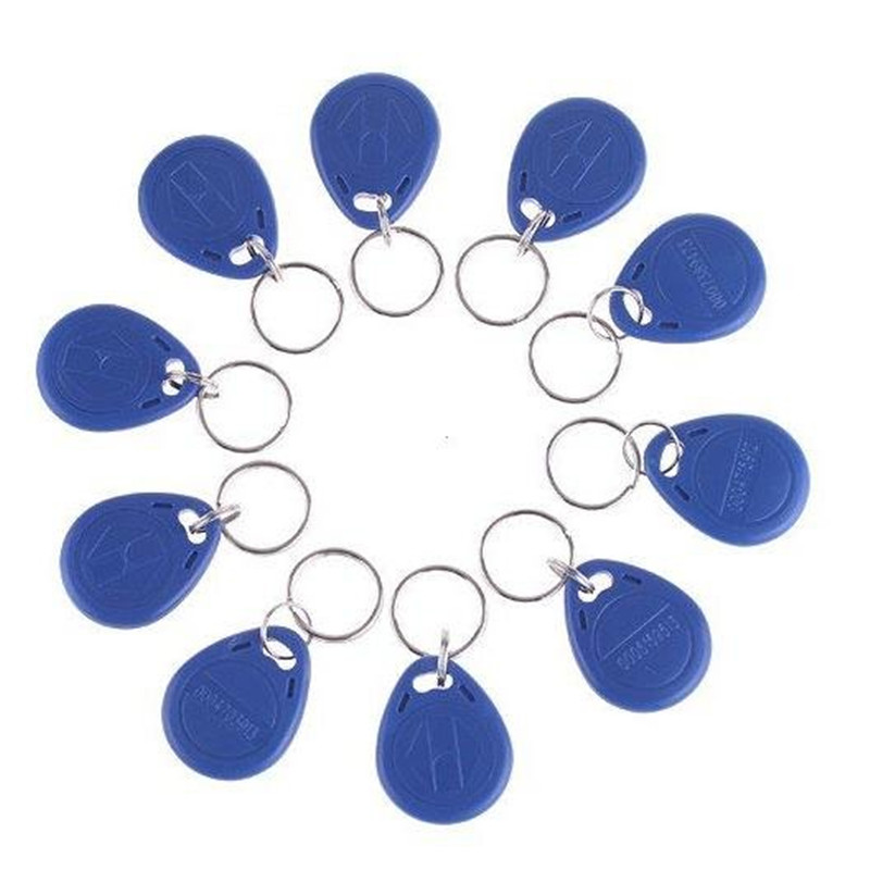 Golden Security Official Store 10pcs RFID Smart Card Of ID Keyfobs 125 KHz ID Card Access Control Card can work with K16 keyboard alarm system