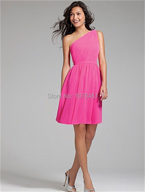 Compare Prices on Short Hot Pink Bridesmaid Dresses- Online ...