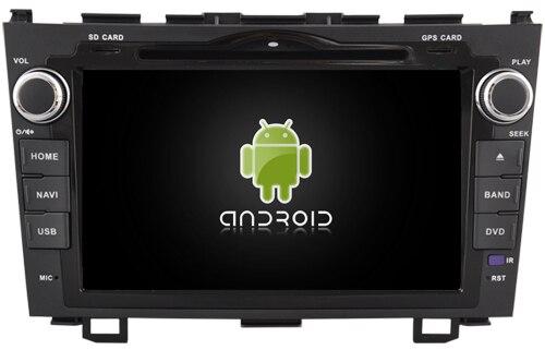Подходит для HONDA CRV 2008 2011 OTOJETA android 8,1 Wifi версия автомобиля dvd плеер магнитофон BLUETOOTH головных устройств с белый свет