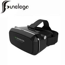 Funelego 3D VR Google Картон Виртуальная Реальность Очки 3D Фильм Видео стеклянный ЯЩИК Для 4-6 дюймов Телефон с Bluetooth Дистанционного Управления 3D VR