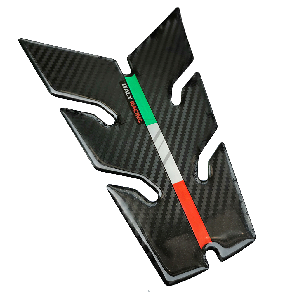 Tank Pad Stickers Carbon Tank Guard 3D Motorcycle Aprilia Racing