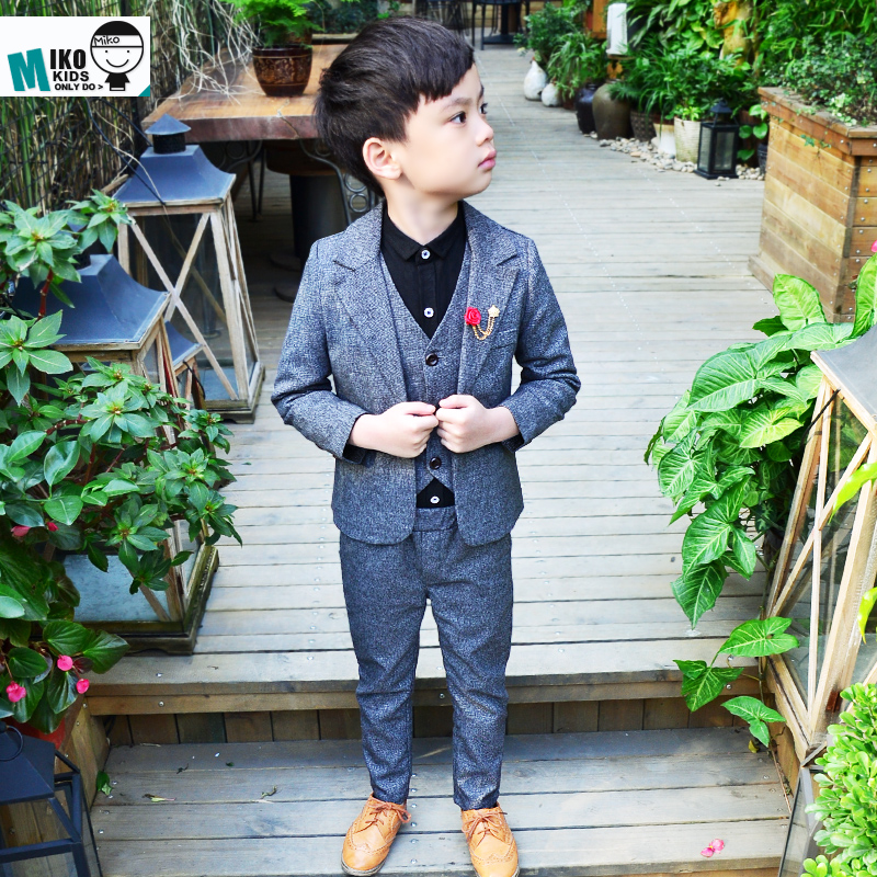 High Quality Child Blazers Suit Junior Boys Prom Suits Flower Girl ...