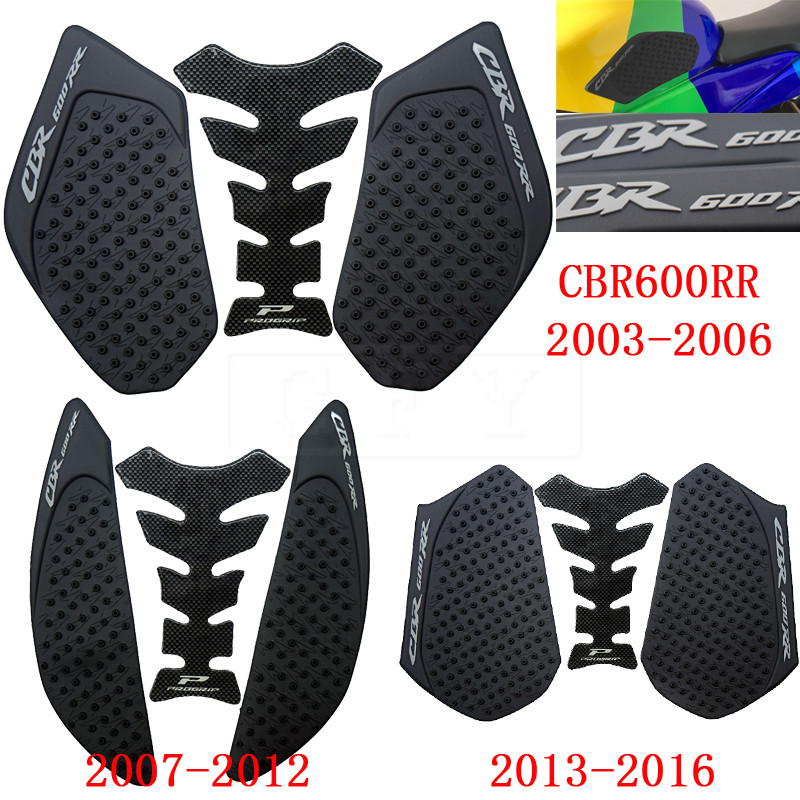 For Honda Cbr1000rr Cbr 1000 Rr Anti Slip Sticker Tank Traction Pad Side Knee Grip Protector 2012 2013 2014 2015 2016 Motorcycle Aesthetic Appearance Falling Protection