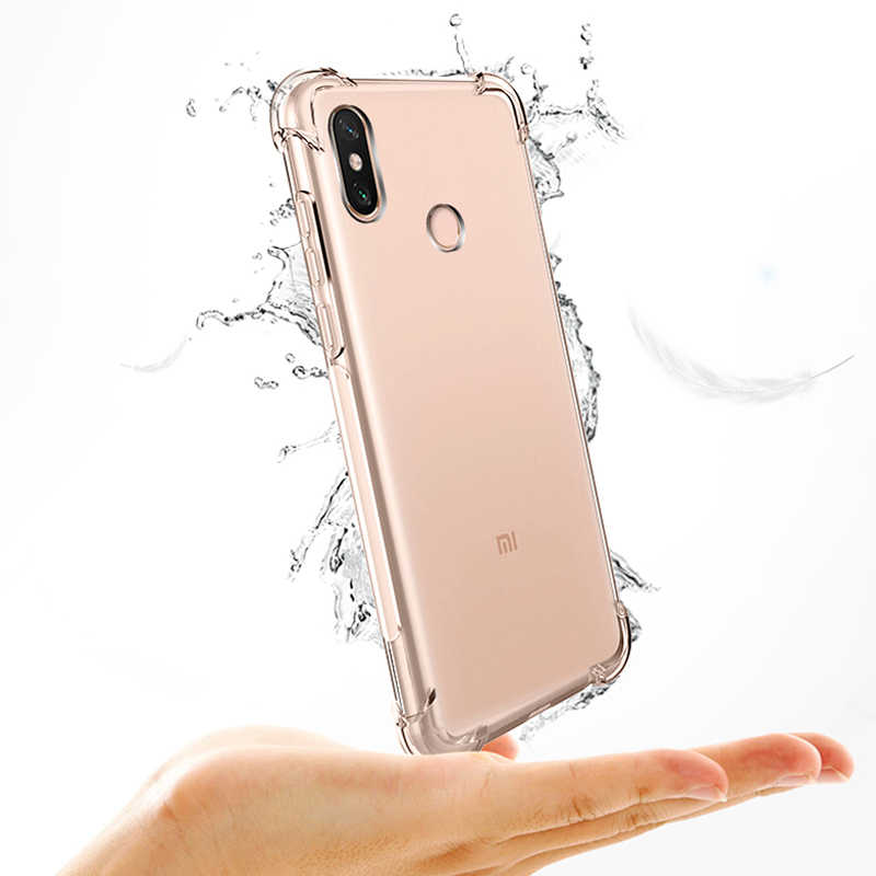 Case For Xiaomi Redmi mi 9 6 case on Redmi note 5 6 Pro for xiaomi mi9 case Ultra Thin Clear Transparent Soft TPU Silicon
