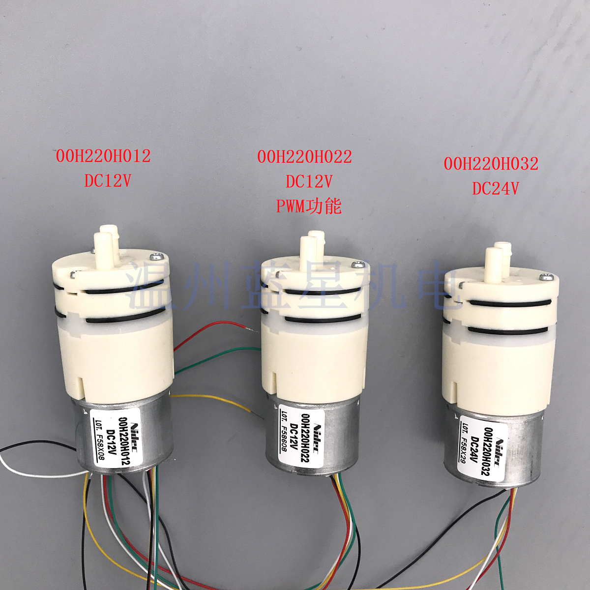 DC brushless air pump 00H220H022DC brushless air pump 00H220H022