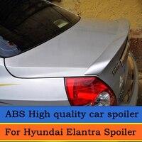 For Hyundai Elantra Spoiler High Quality ABS Plastic Unpainted Primer Rear Trunk Spoiler For hyundai elantra 2005 2007