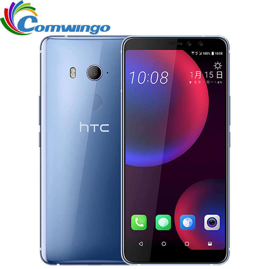 Original HTC U11 EYEs 4GB 64 GB ROM 4G RAM LTE Snapdragon 652 Octa Core 6.0 inch Android IP67 Waterproof NFC Smart Phone