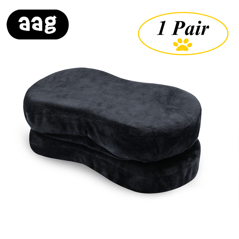 AAG Chair Armrest Pads Memory Foam Elbow Pillow Support Arm Rest Covers For Office Chair Add Large Armrest Mats Elbow Relief