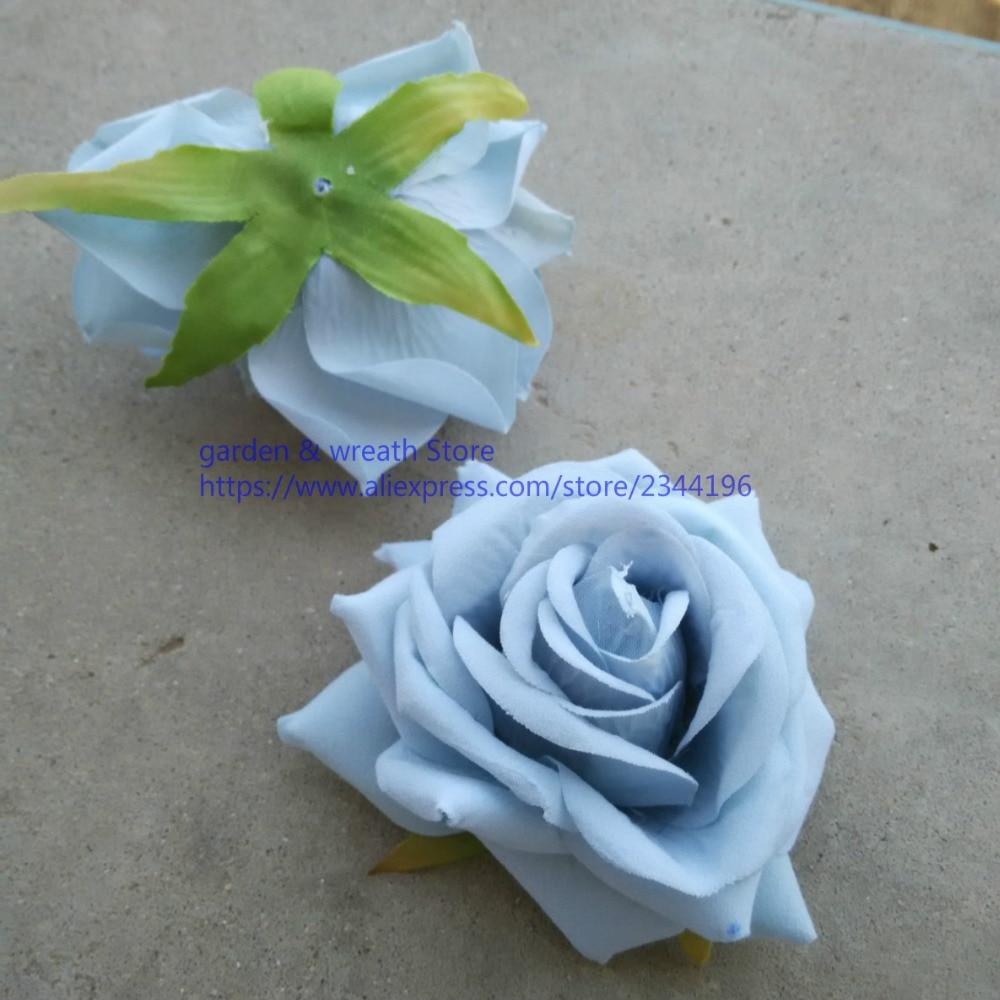Silk Flower Heads Large Roses Heads For Diy Work Head Wreaths Wrist
