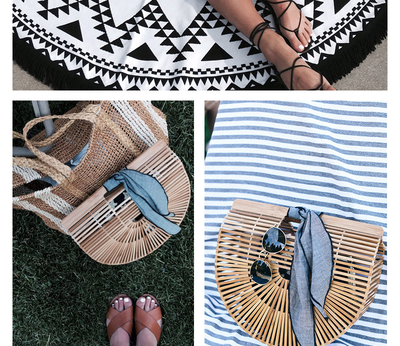Women Bamboo Bag Summer Beach Bags For Women Woven Hollow Out Bamboo Handbag Lady Wood Clutch Bags Handmade Handbags Bolso Bambu_18