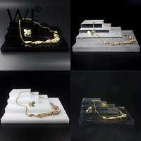 Acrylic Perspex Blocks Retail Jewellery Display Stand Various Risers for Ring Bracelet Necklace Earring Jewelry Multilist Holder