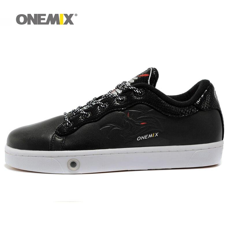 Onemix мужская обувь для скейтбординга спортивная обувь дышащая прогулочная Спортивная уличная Мужская обувь для прогулок треккинг бег