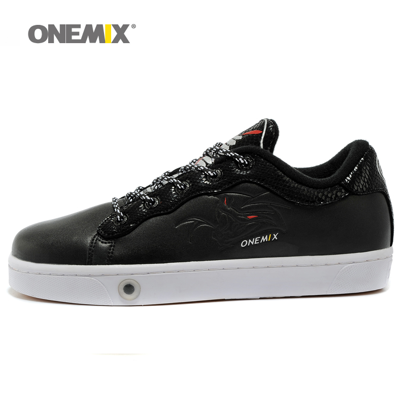 Onemix Mens Skateboarding shoes Athletic Shoes Breathable Walking Sport Outdoor Men Shoes for outdoor walking trekking jogging ...
